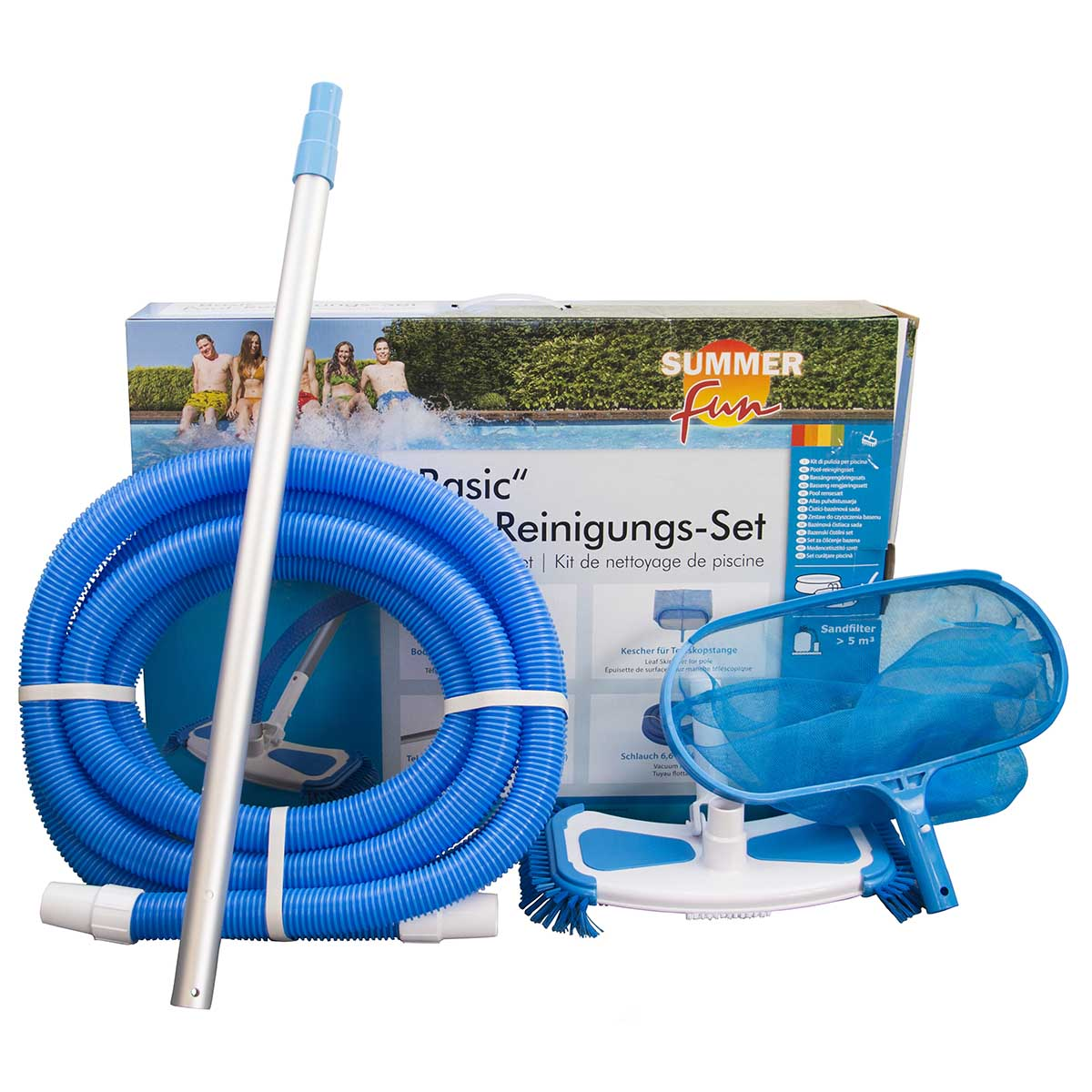 Summer Fun Pool-Reinigungsset Basic