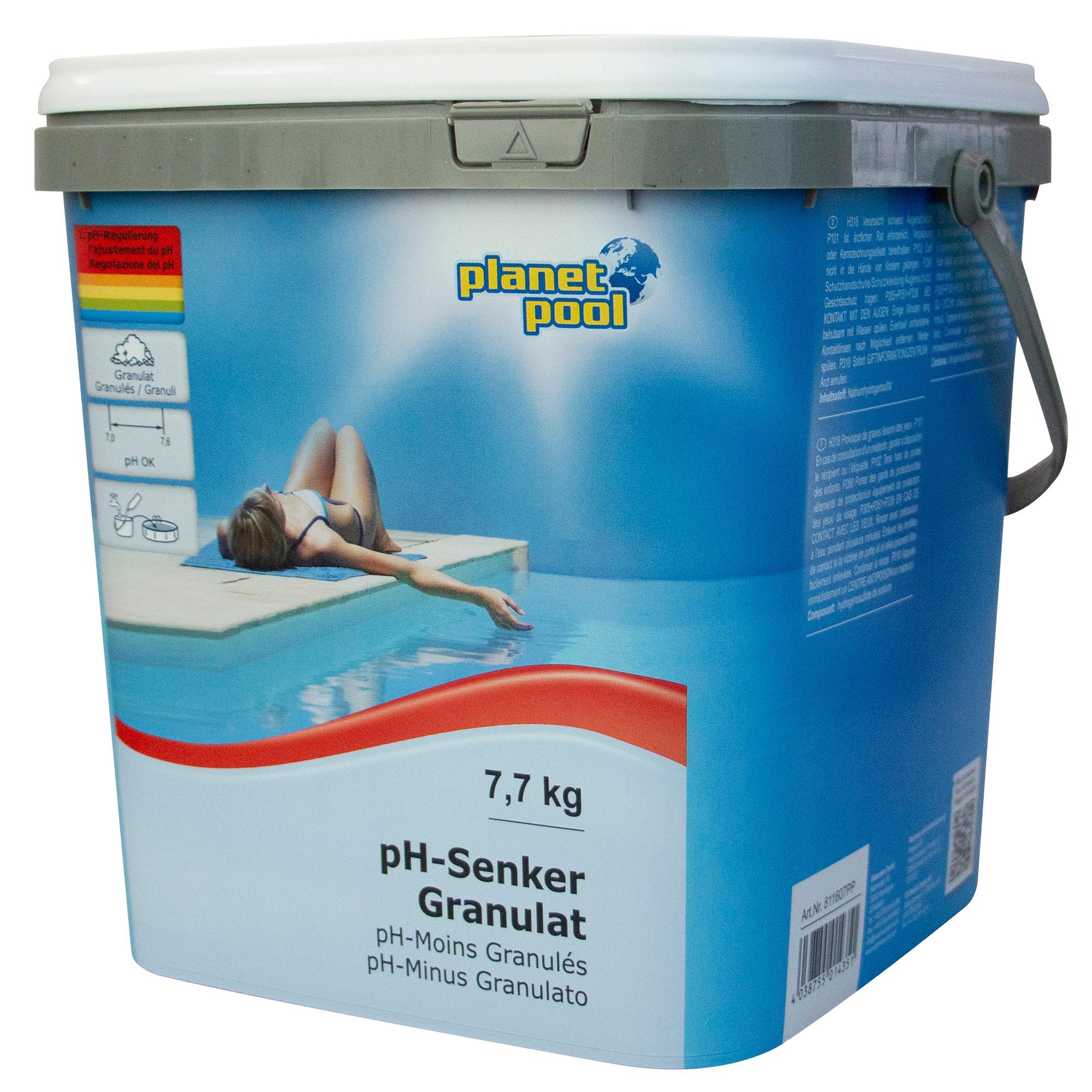 PLANET POOL pH-Senker Granulat 7,7 kg