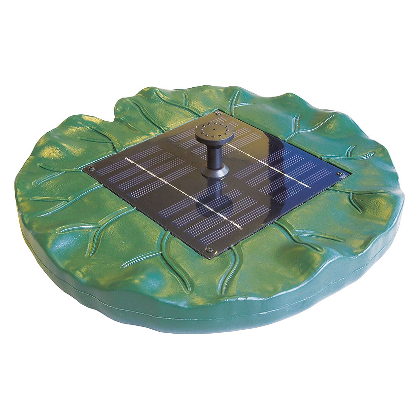 Smartline Schwimminsel Solar Wasserspielpumpenset SPF-150 von Heissner