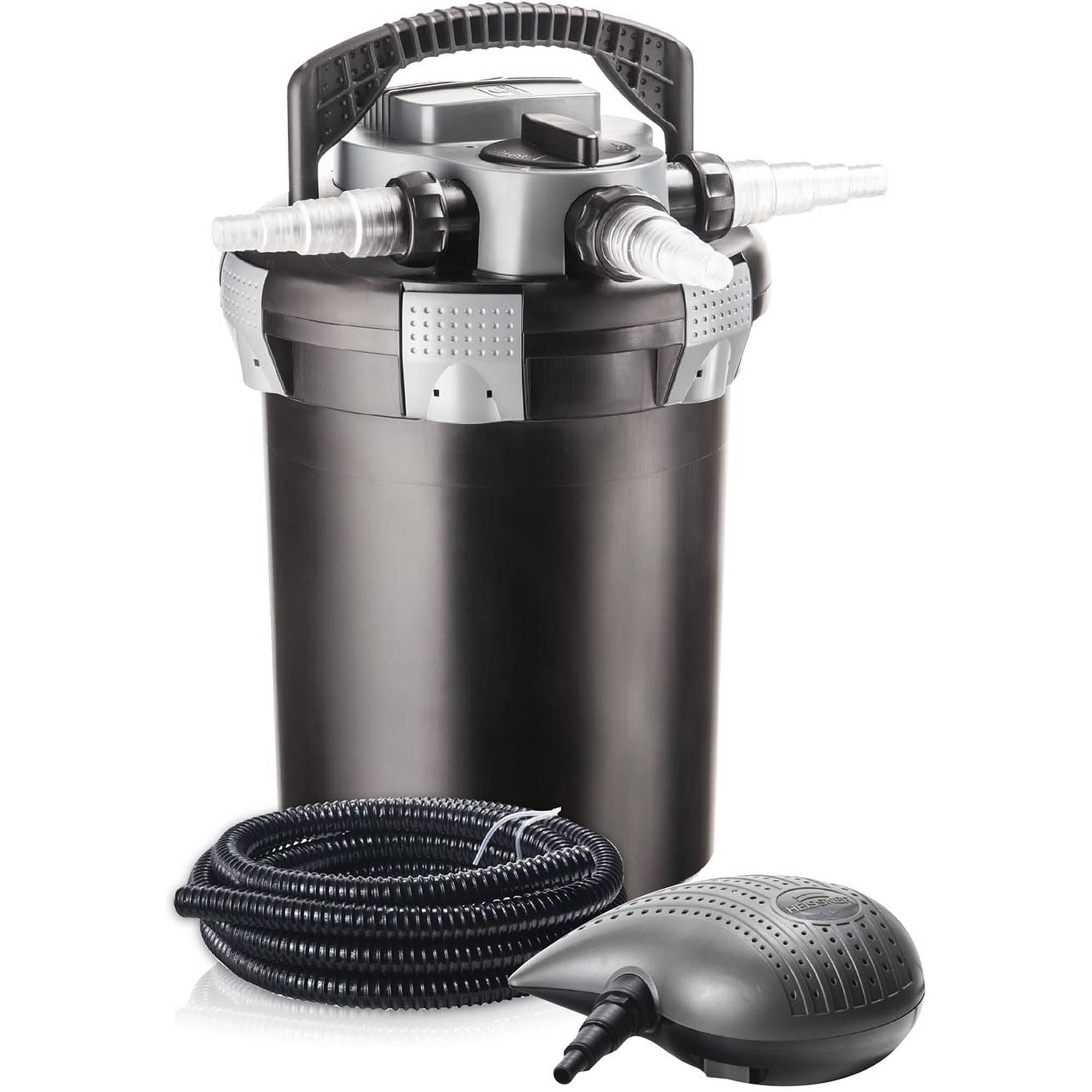 Druckfilter-Set mit Pumpe P4100 und UVC
