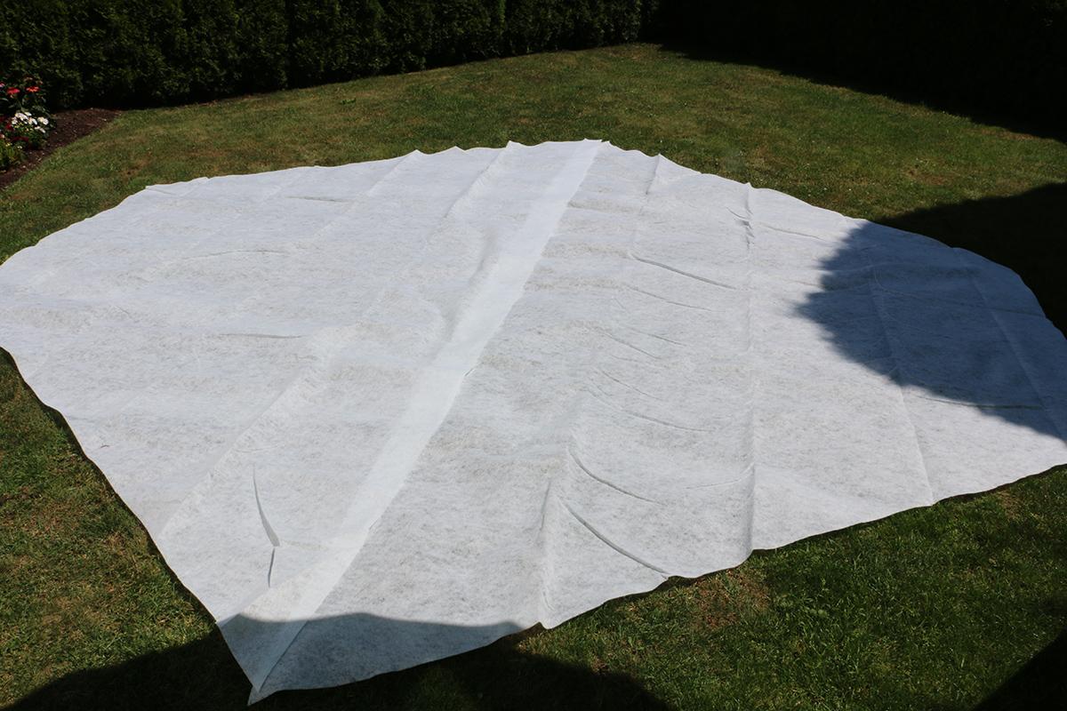 Extra Bodenschutzvlies für Rundbecken Ø 300 bis 360 cm