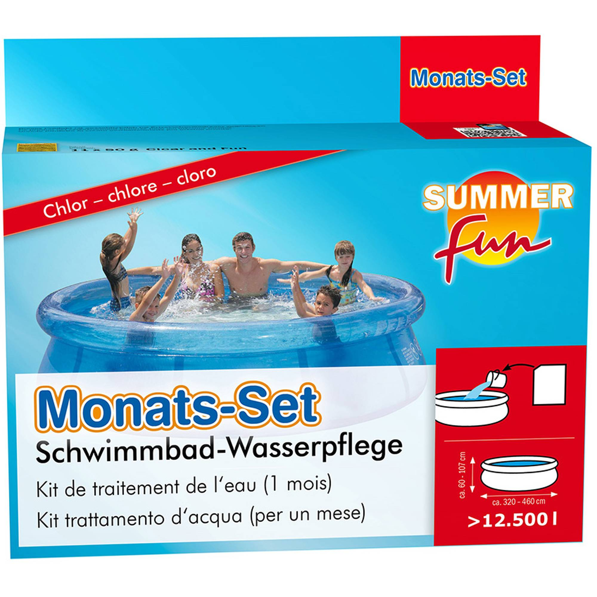 Summer Fun Monatsset Chlor