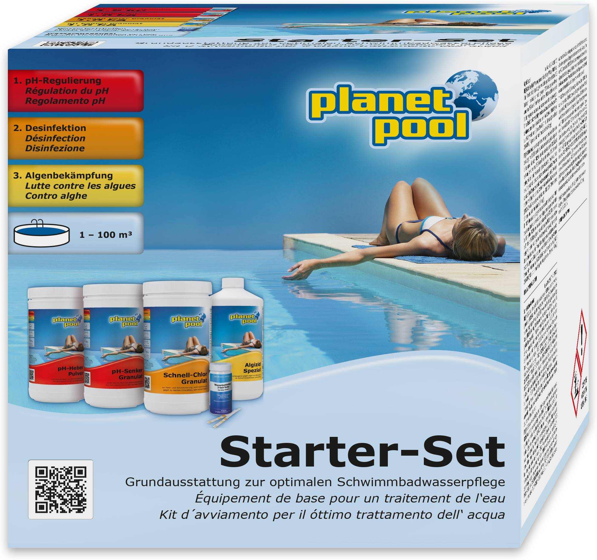Planet Pool Clear Pool Starter-Set