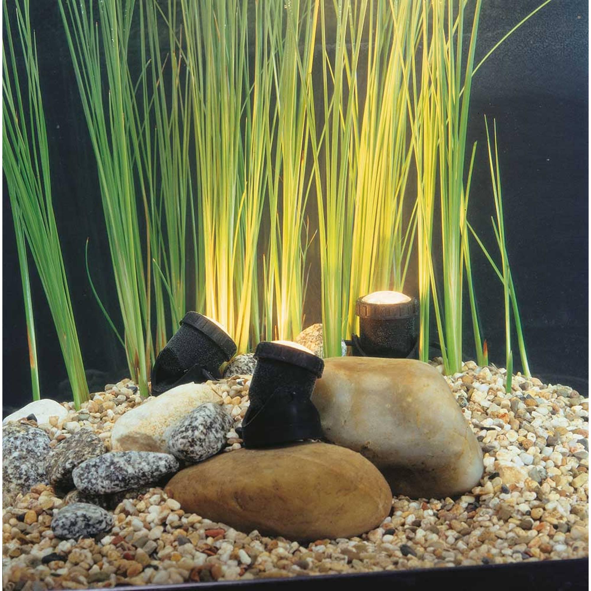 Teichlicht 3er Spot LED Gartenlicht Beleuchtung von Heissner