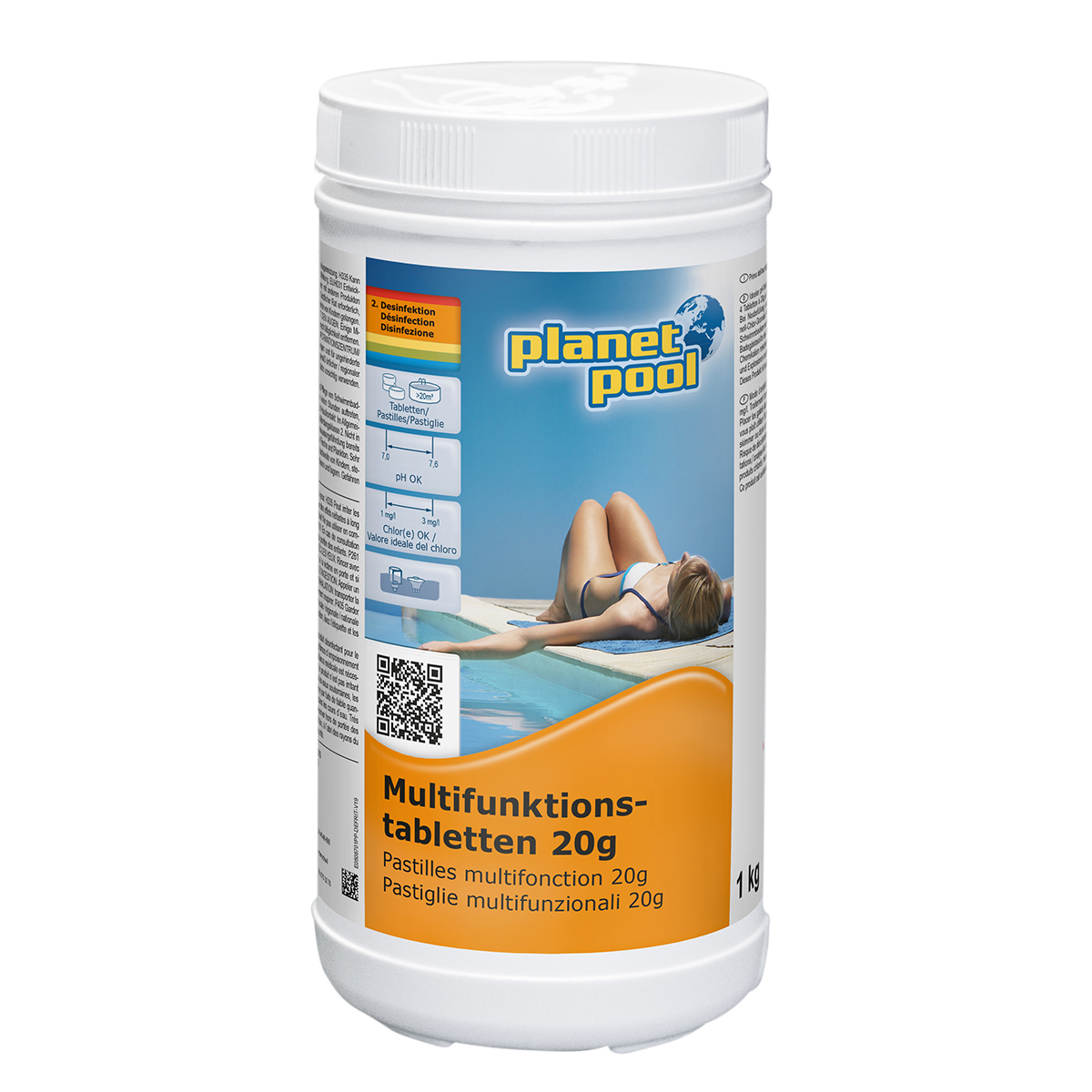 PLANET POOL Multifunktionstabletten 20 g 1 kg