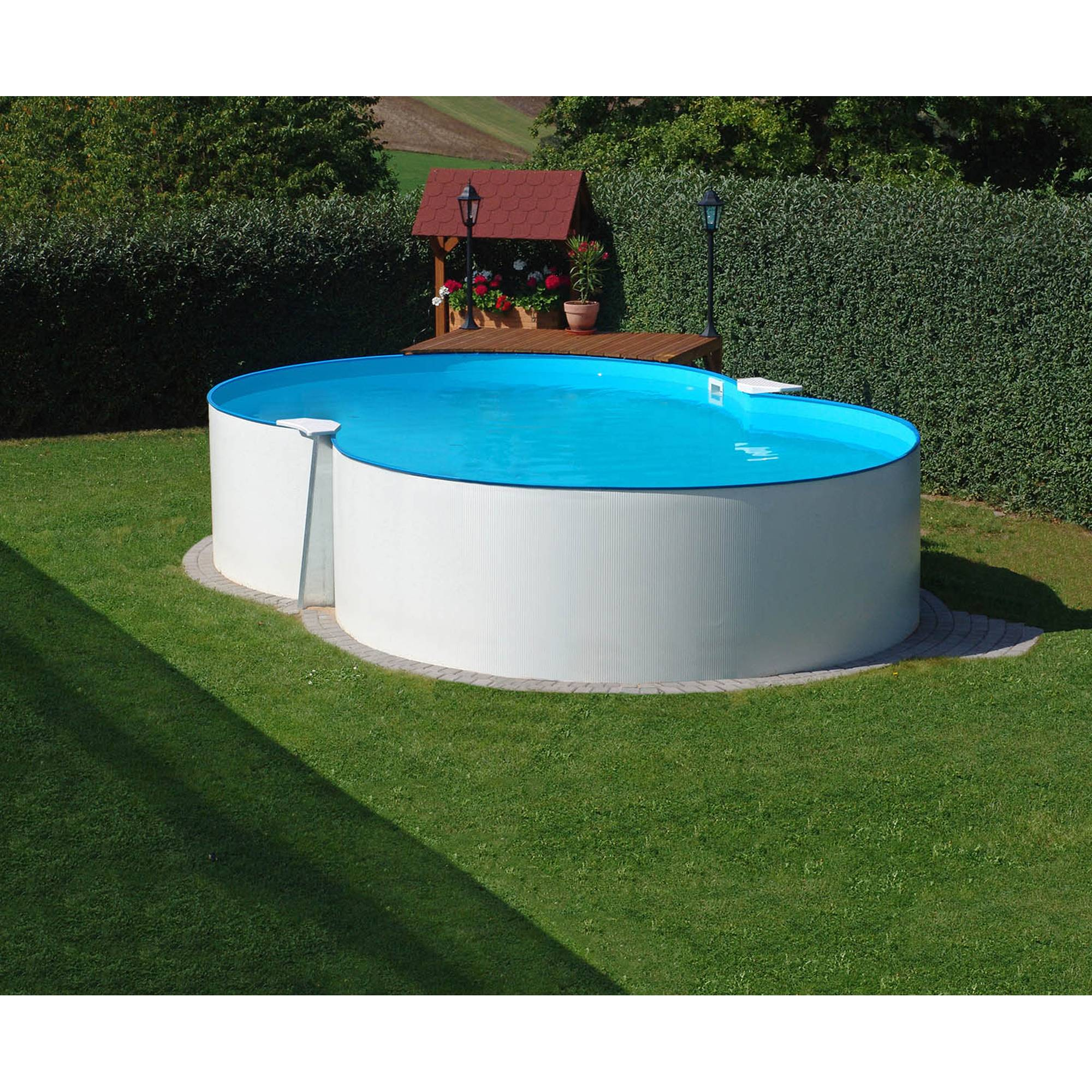 PLANET POOL Achtformpool Basic 470x300x120cm
