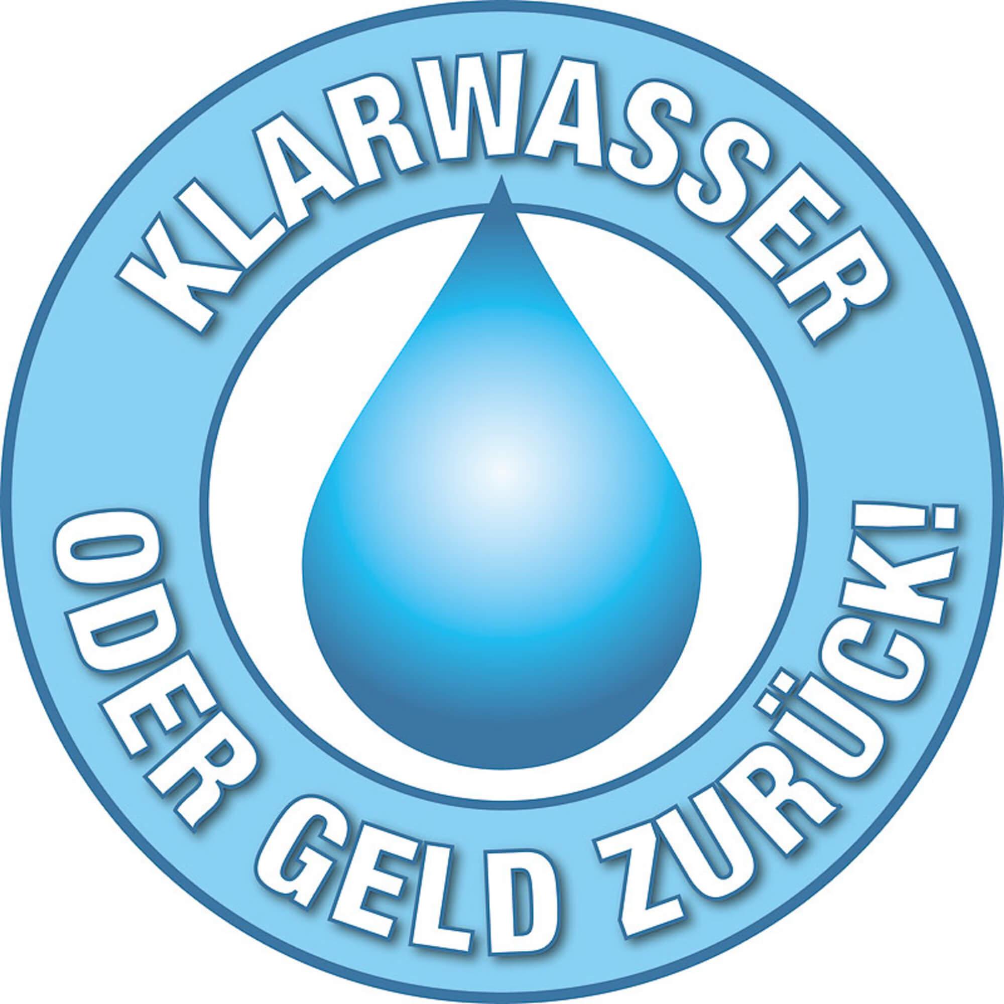 Heissner Mehrkammerfilter Set 24000 Liter inkl. 24 Watt UV-C Teichklärer