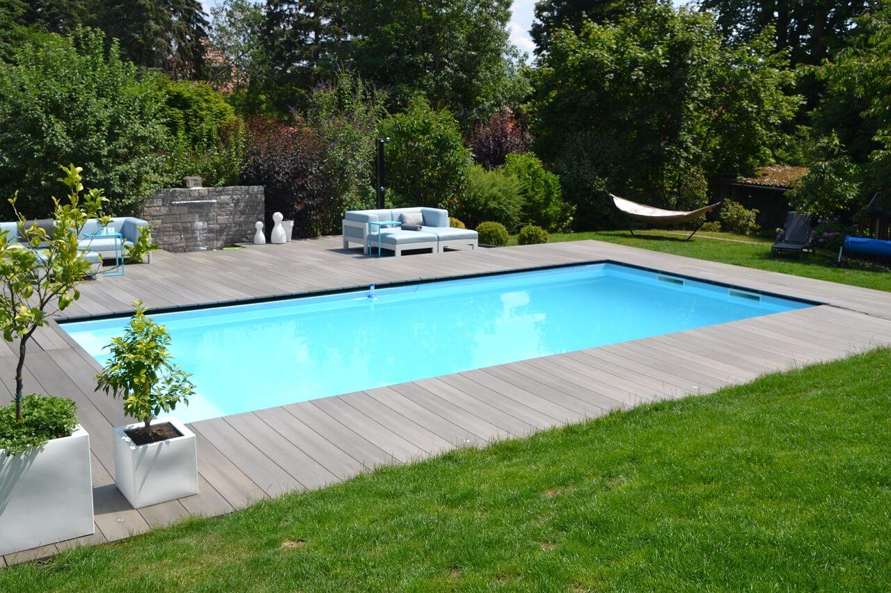 Eingelassener Pool