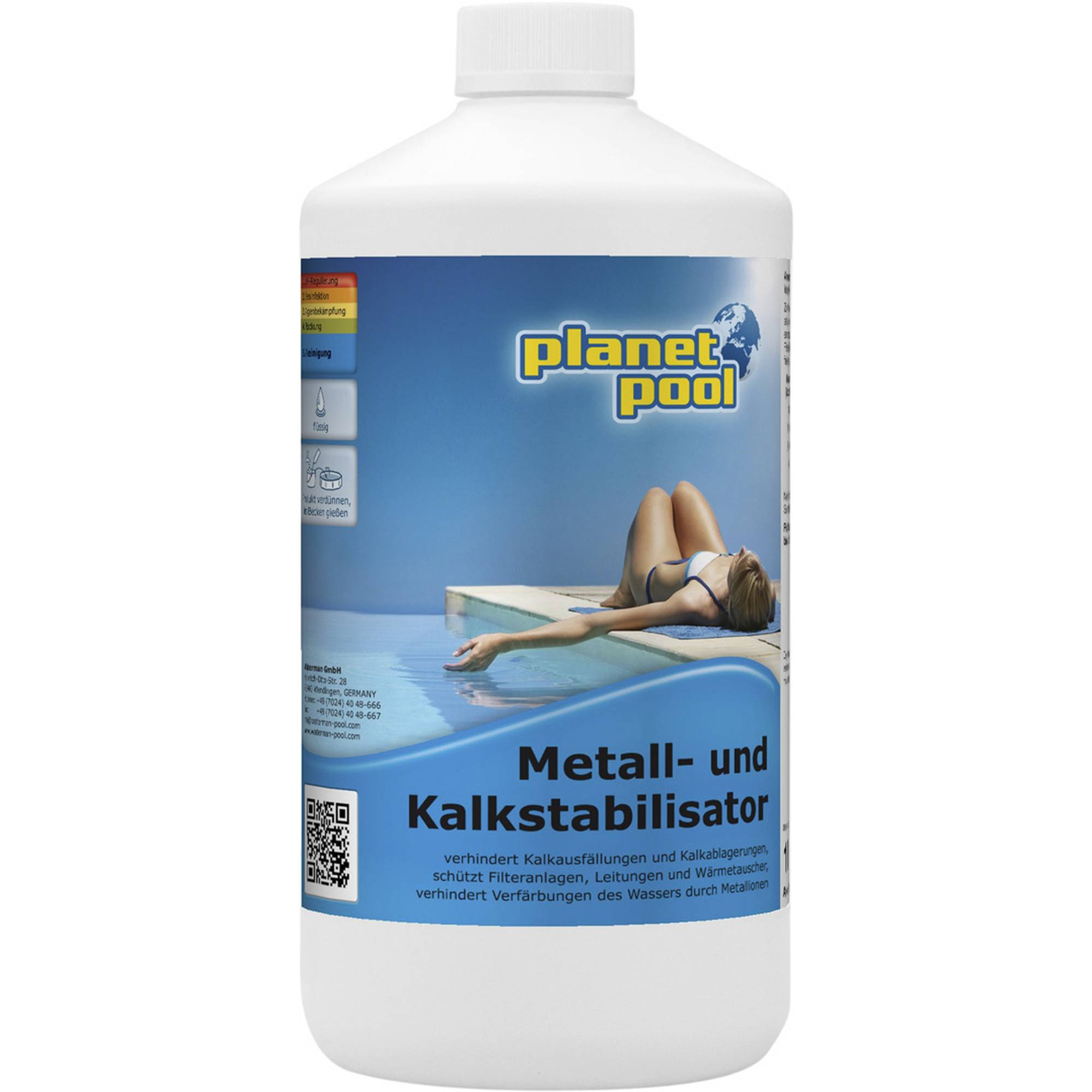 PLANET POOL Metall- und Kalkstabilisator 1 Liter
