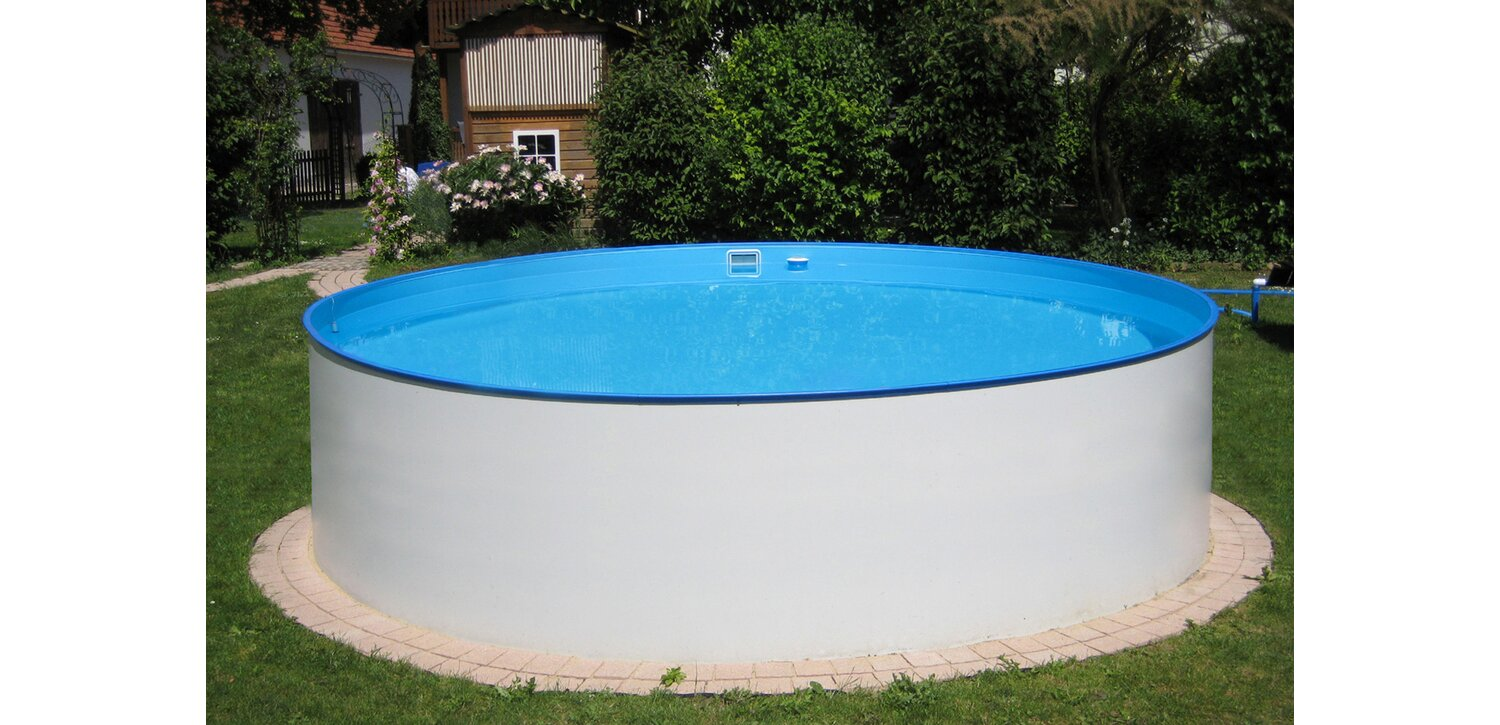 PLANET POOL Rundform Aufstellbeckenset Arizona Ø350x90cm