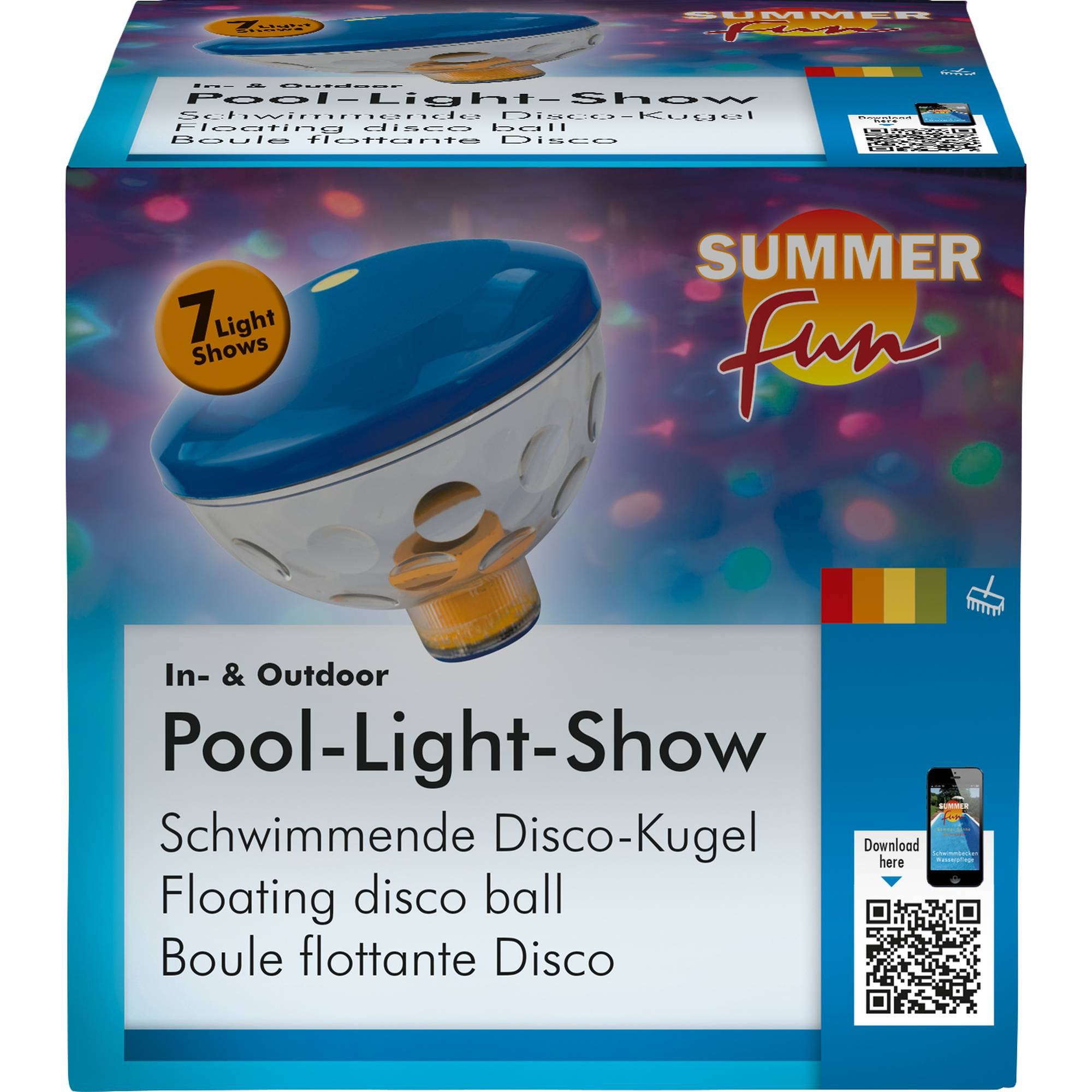 LED Unterwasserlichtershow, Summer Fun