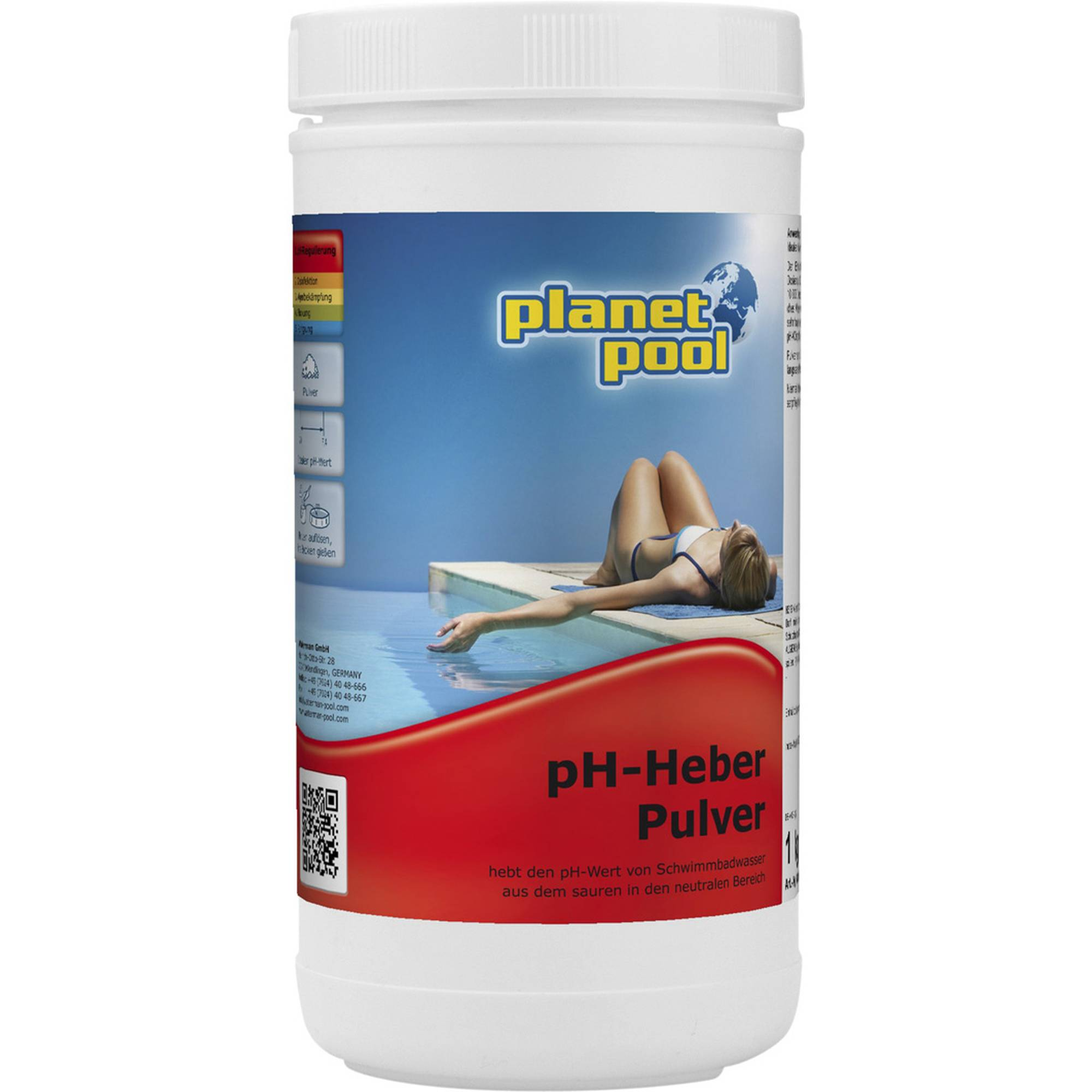 PLANET POOL pH-plus Granulat 1 kg