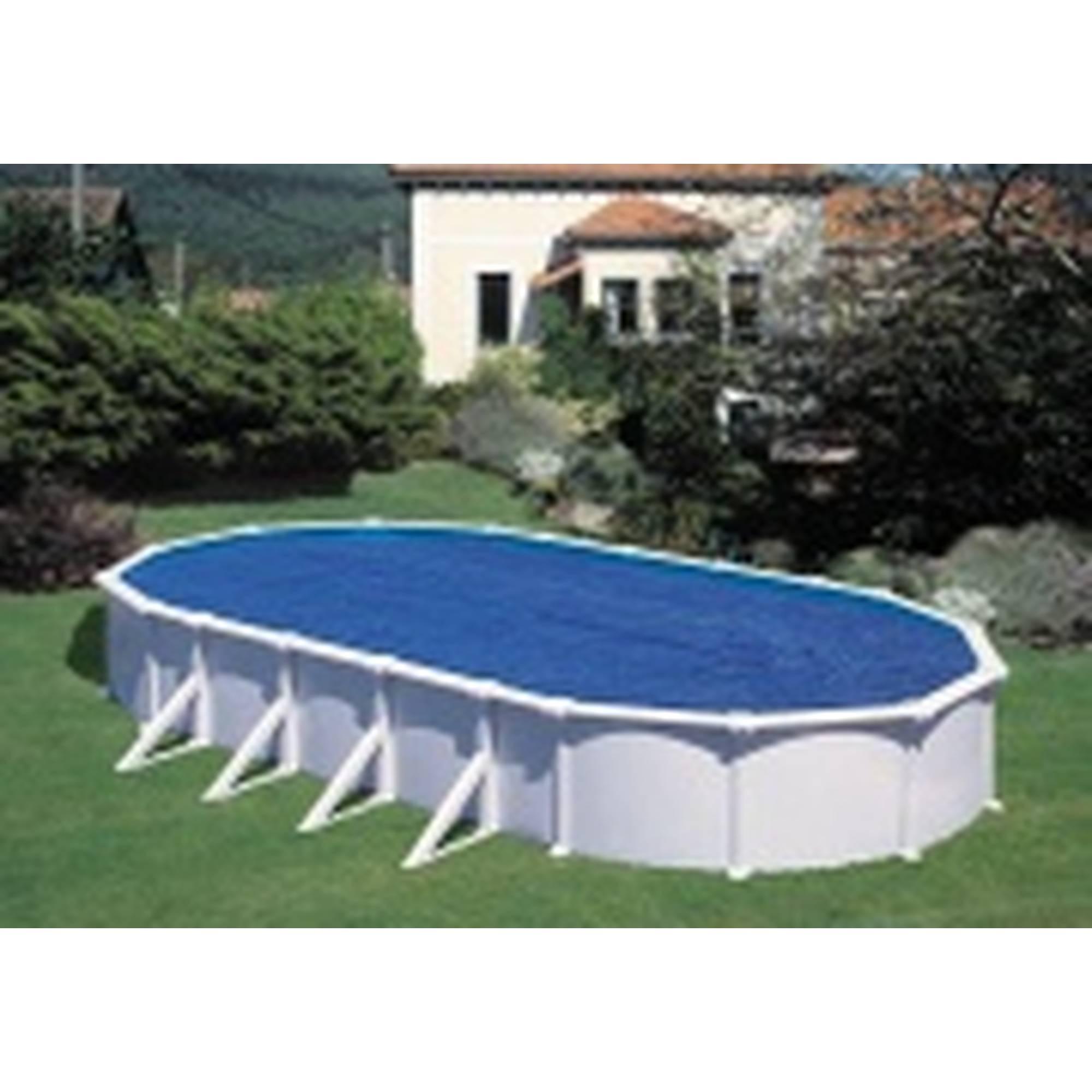 Extra-Solar-Abdeckung oval für Becken 525x320 cm, 230µ