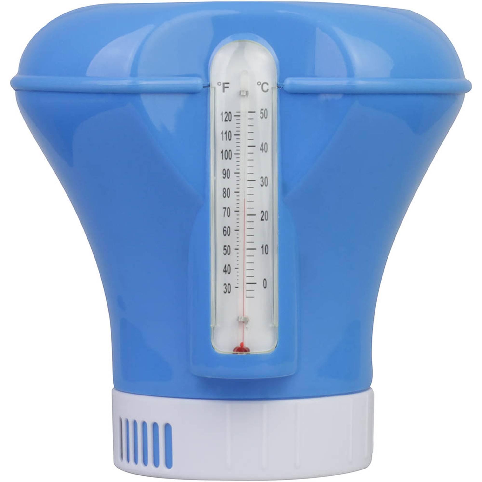 Dosierschwimmer inkl. Thermometer für 200gr Tabletten