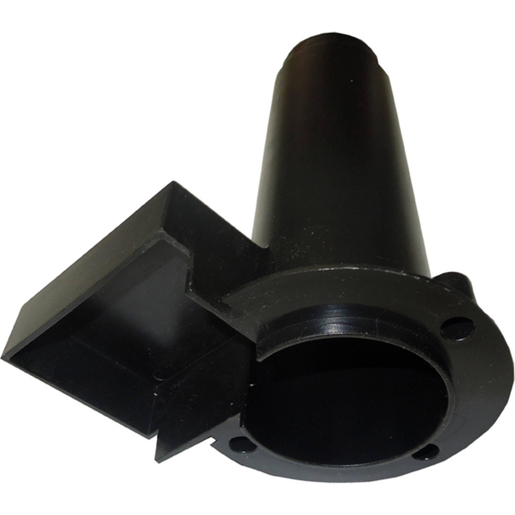 Kunststoffeinsatz für QuarzglasröhreF380