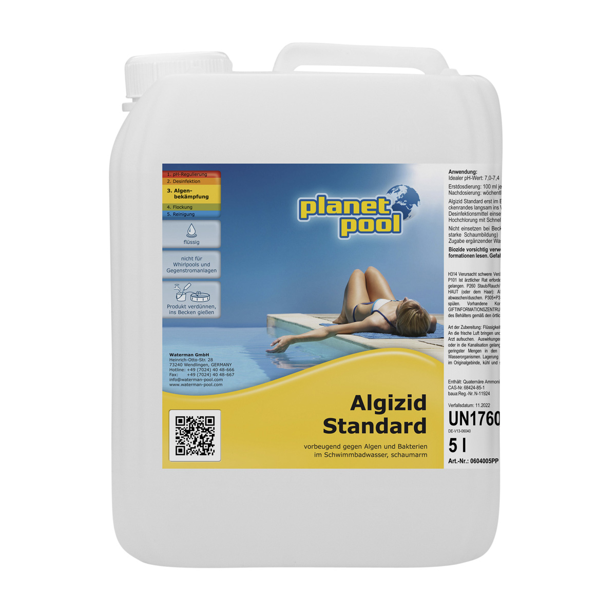 PLANET POOL Algizid Standard 5 Liter